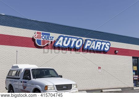 Delphi - Circa April 2021: Carquest Auto Parts Location. Carquest Auto Parts Is Owned By Advance Aut