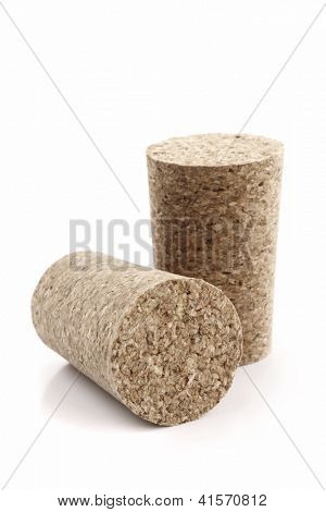 Photo of Two wine corks