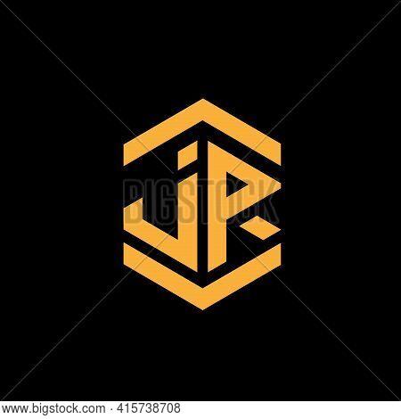 Jr Letter Design Logo Vector. Jr Business Logo
