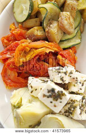 Rustic Vegetable Finger Food