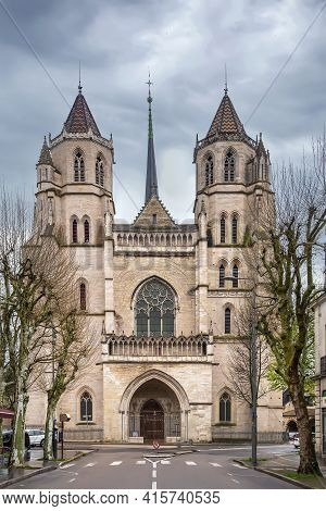 Dijon Cathedral, Or Cathedral Of Saint Benignus Of Dijon Is A Roman Catholic Church Located In The T