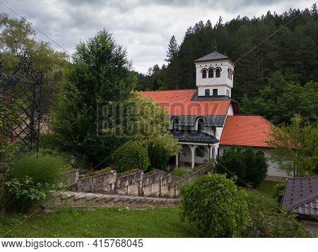 Auxiliary Building Near The Monastery Ozren Dedicated To Saint Nicholas, Serbian Orthodox Temple In