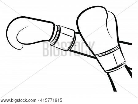 Sport Man, Woman Hands Protect Face And Retaliate Against Opponent. Athlete Protective Equipment. Is