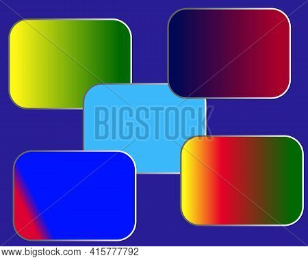 Abstract Square Geometric Background, Creative Design Templates. Colorful Square Background, Red, Ye
