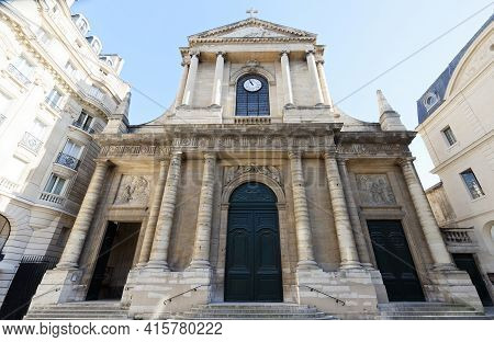 Saint-thomas-daquin Is A Roman Catholic Church Located In The 7th Arrondissement Of Paris, Place Sai