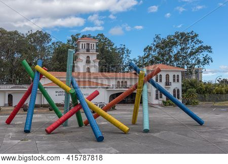 San Jose, Costa Rica-march 04, 2017: Museum Of Costa Rican Art, San Jose, Costa Rica