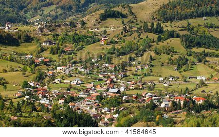 Traditional Romanian Village