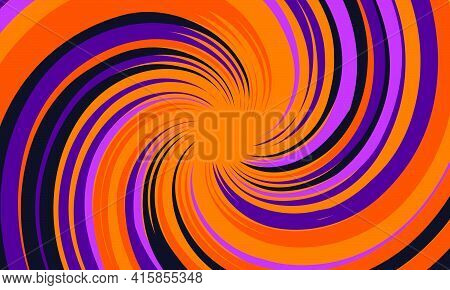 Psychedelic Groovy Background. Colorful Abstract Background. Vector Illustration.