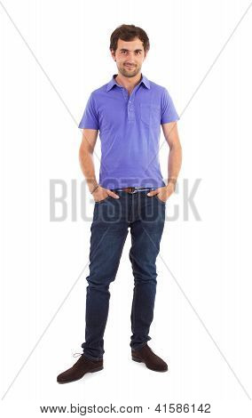 Caucasian Man, Full Length