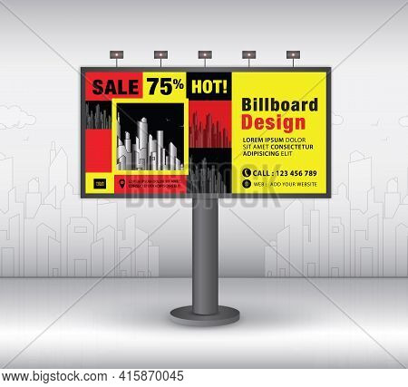 Billboard Template Design2021-no16