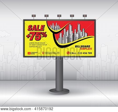 Billboard Template Design2021-no19