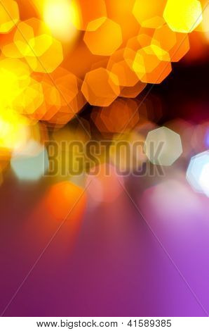 Abstract of festive light