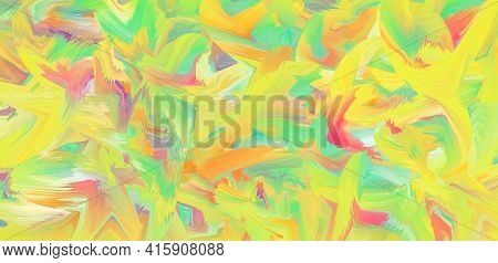 Ink Texture, Multicolor Painted Background, Art Canvas. Colorful Pattern. Painting Design. Abstract