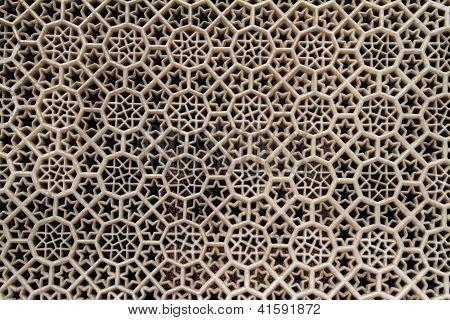 Geometric Marble Carvings