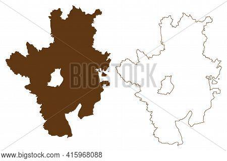 Rosenheim District (federal Republic Of Germany, Rural District Upper Bavaria, Free State Of Bavaria