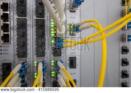 Fiber Optical, Patch Panel