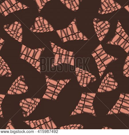 Abstract Seamless Geometric Pattern For Design, Wallpaper, Fashion Print, Trendy Decor, Home Textile