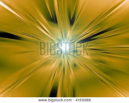 Yellow Orange Vortex
