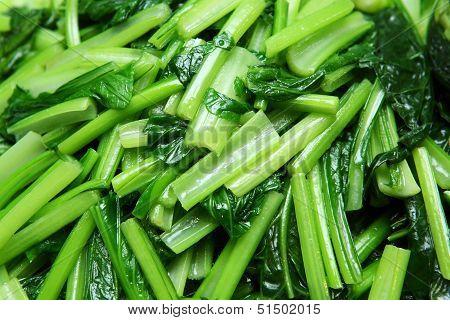 Stir Fried Chinese Mustard Greens