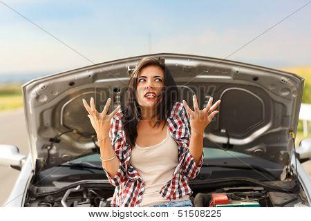 Madness Due To Broken Car