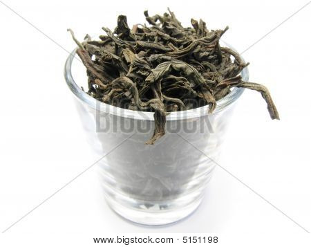Black Tea In Glass