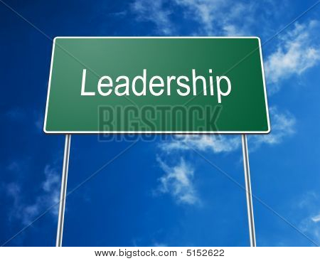 Road Sign Leadership