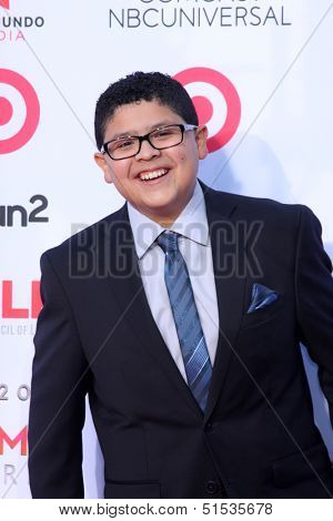 LOS ANGELES - SEP 27:  Rico Rodriguez at the 2013 ALMA Awards - Arrivals at Pasadena Civic Auditorium on September 27, 2013 in Pasadena, CA