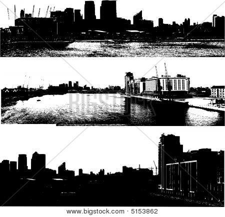 Grunge Urban Cityscapes london