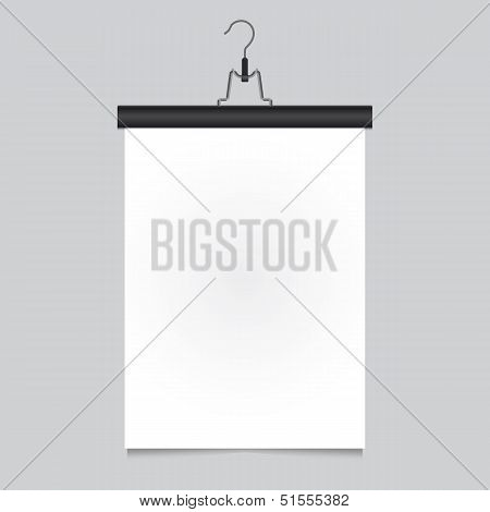 Poster-pants-hanger-black