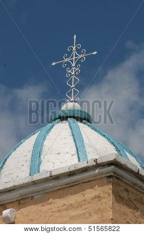 Church Cross and Dome