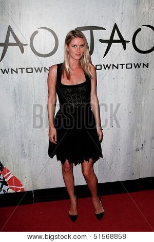 NEW YORK-SEP 28: Socialite Nicky Hilton attends the grand opening of TAO Downtown at the Maritime Hotel on September 28, 2013 in New York City.