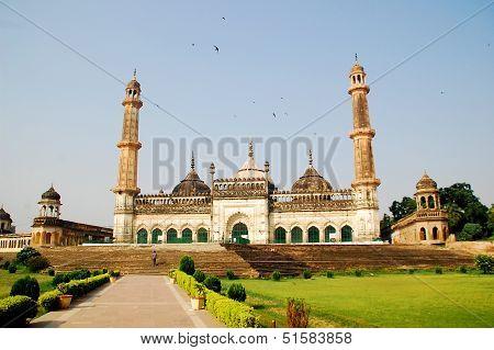 Jama Masjid of Lucknow , city.