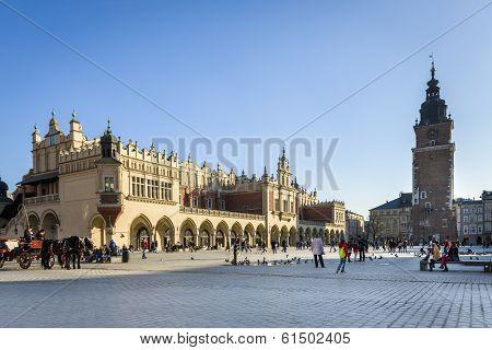 The Cloth Hall (polish: Sukiennice) In Krakow, Lesser Poland.