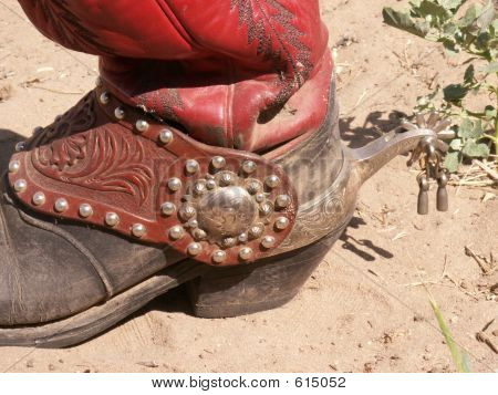Buckaroo Boot With Fancy Spur