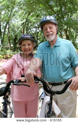 Senior fietsen veiligheid