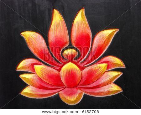 Abstract Buddhist Design