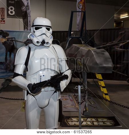 Stormtrooper At Cartoomics 2014 In Milan, Italy