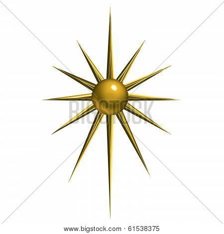 A Christmas Star Design