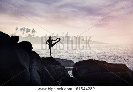 Yoga On The Rock