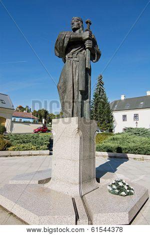 Pribina Statue In Nitra