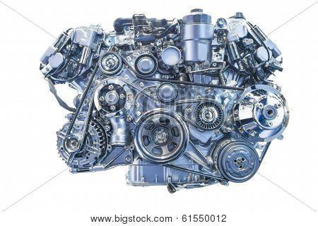 Engine Isolated