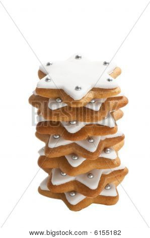 Christmas Cookie Stack