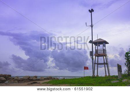 Beach Guard Tower