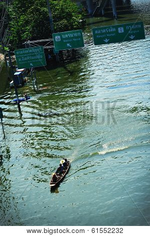 Long Tail Journey On Flood