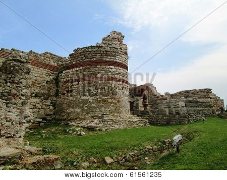 Ruins of Church in Nessebar