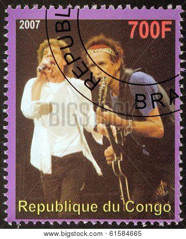 Rolling Stones Stamp