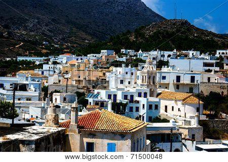 Kithira Island In Aegean Sea In Greece