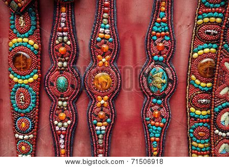 Ethnic Tibetan Belts