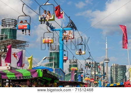 Toronto, Canada - August 17, 2014, Community Event At The Ex, Canadian National Exhibition (cne)