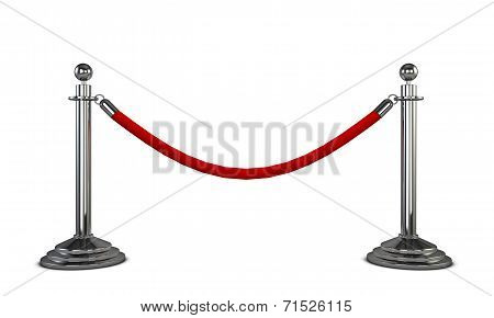 Two Stanchions
